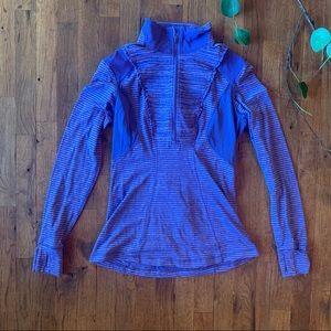 Lululemon purple quarter zip jacket